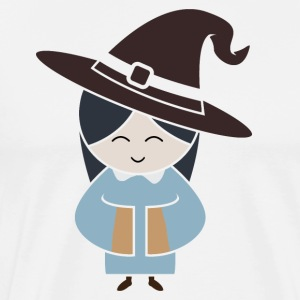 Halloween witch holiday witches witchcraft magic - Men's Premium T-Shirt