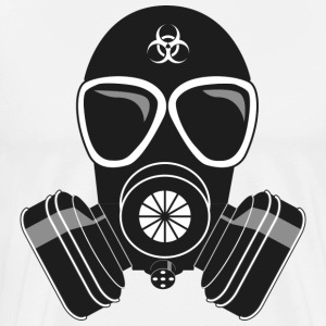 GAS MASKE T-SHIRT COLLECTION - Männer Premium T-Shirt
