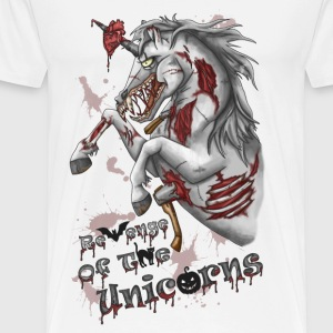 Zombie Einhorn - Revenge Of The Unicorns - Männer Premium T-Shirt