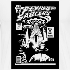 Alien Kidnapping Comic Ufo Flying Saucer