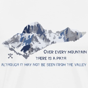 Over all the mountains ... - Men's Premium T-Shirt