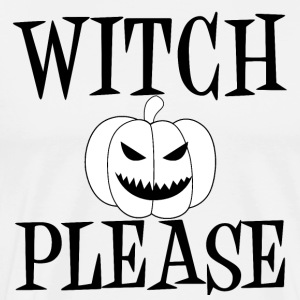 Witch Please Pumpkin Black Walpurgisnacht Geister - Männer Premium T-Shirt