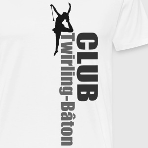 TWIRLING BAND - Men's Premium T-Shirt