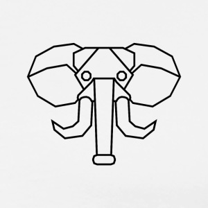 basical-clothing Elefant - Männer Premium T-Shirt
