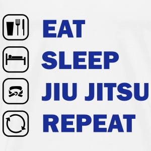 Eat, Sleep, Jiu Jitsu, Repeat - Men's Premium T-Shirt