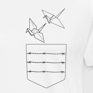 Origami art - Men's Premium T-Shirt
