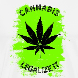 Legalize it cannabis - marijuana THC légaliserait - T-shirt Premium Homme
