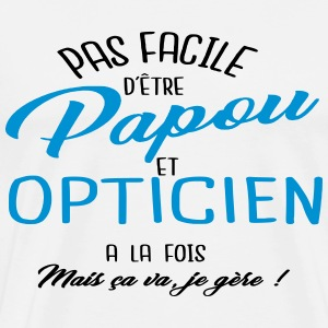 Papou et opticien