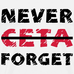 NEVER FORGET / FUCK / STOP CETA