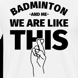 Badminton badminton player gift