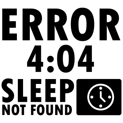 Error 4:04, sleep not found