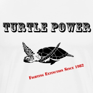 Turtle Power 1982 - Men's Premium T-Shirt