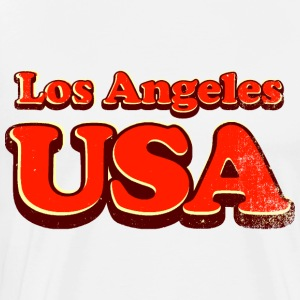 Los Angeles 3c - Mannen Premium T-shirt