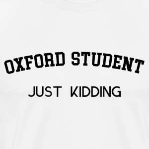 OXFORD STUDENT - Premium T-skjorte for menn