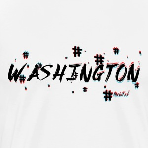 Washington #3d - Men's Premium T-Shirt