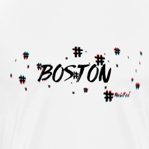 Boston #3d - Men's Premium T-Shirt