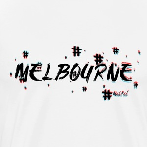 Melbourne #3d - Men's Premium T-Shirt
