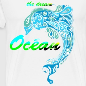 THE OCEAN DREAM - Mannen Premium T-shirt