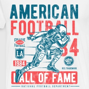 Football Hall of Fame - Sport Shirt Design - Mannen Premium T-shirt