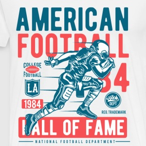 Football 1984 - sport shirt design - Mannen Premium T-shirt