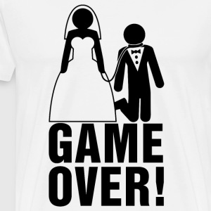 Bachelor Parties | bruidegom | Game Over! - Mannen Premium T-shirt