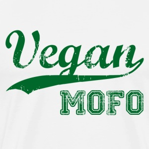 Vegan Mofo gift idea Birthday T-Shirt Love - Men's Premium T-Shirt