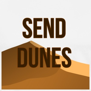 Send Dunes - Premium T-skjorte for menn