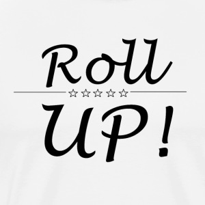 roll up - Herre premium T-shirt