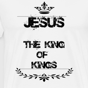 JESUS THE KING OF KINGS - Men's Premium T-Shirt