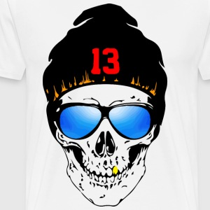Skull Design 1 - Men's Premium T-Shirt