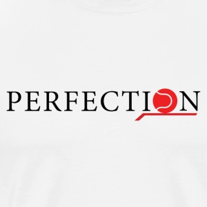 Perfection tennis brand black/red - Maglietta Premium da uomo