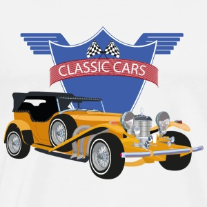 Classic Car - Premium T-skjorte for menn