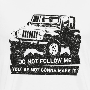 Jeep off-road SUV tröja - Premium-T-shirt herr
