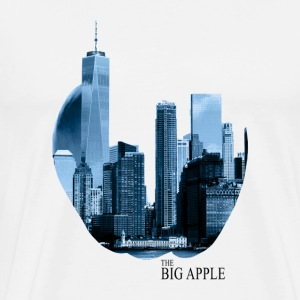 The Big Apple - Premium T-skjorte for menn