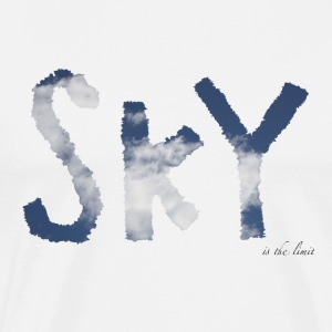 Sky is the limit - Männer Premium T-Shirt