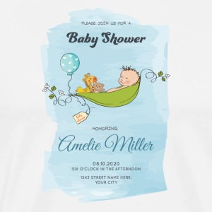 baby shower - Männer Premium T-Shirt