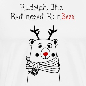 Rudolph le ReinBeer - T-shirt Premium Homme