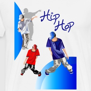 hiphop konstruktion - Premium-T-shirt herr