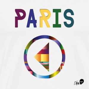 Spill Paris - Premium T-skjorte for menn