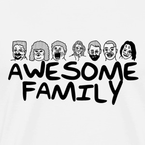 Awesome Family <3 - Männer Premium T-Shirt