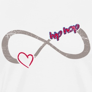 Infinite Love ∞ I Love HipHop ∞Lifestyle - Men's Premium T-Shirt