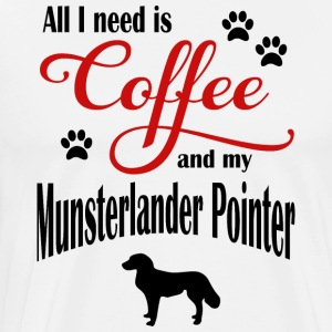 Small Munsterlander Pointer Coff - Männer Premium T-Shirt