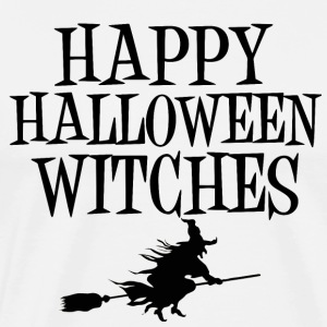 Happy Halloween Witches Witch Witch Black Magic - Men's Premium T-Shirt