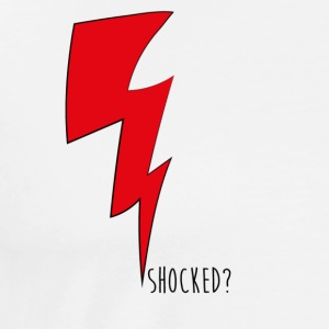 shocked red - Men's Premium T-Shirt