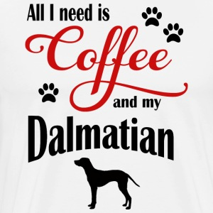 Dalmatian Coffee - Men's Premium T-Shirt