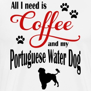 Portoghese Water Dog Coffee - Maglietta Premium da uomo
