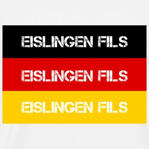 CITY Eislingen FILS, GERMANY - Herre premium T-shirt