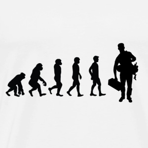 Evolution Handerwerker - Men's Premium T-Shirt