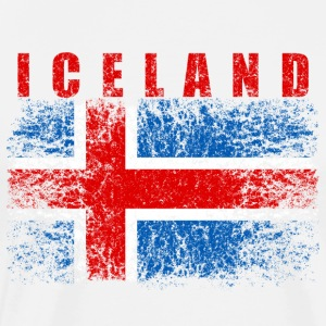 Iceland Flag 008 AllroundDesigns - Men's Premium T-Shirt