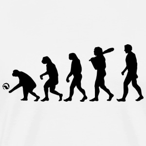 Volleyball-Evolution - Männer Premium T-Shirt